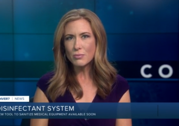 Image for post - New disinfectant system sanitizes handheld medical devices quickly- Sterifre on ABC News, Denver